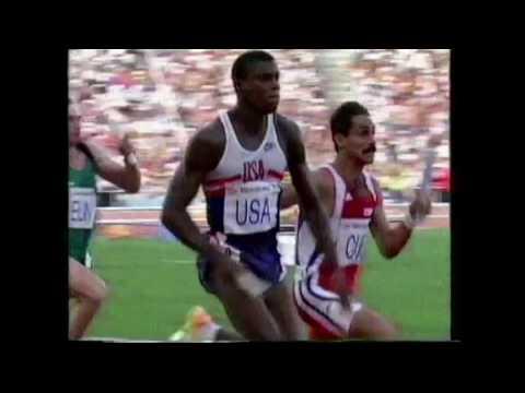 4055 Olympic Track & Field 1992 4x100m Men