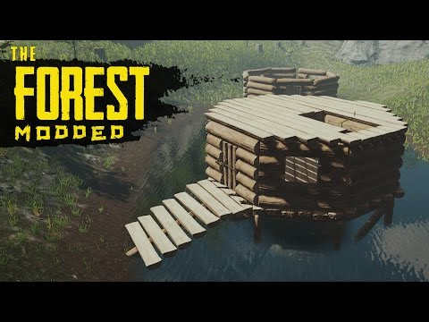 THE FORGOTTEN BASE! The Forest Modded S2 Episode 54