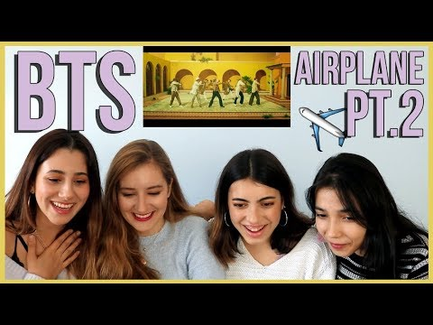 BTS - AIRPLANE PT.2 (Japanese ver.) MV REACTION