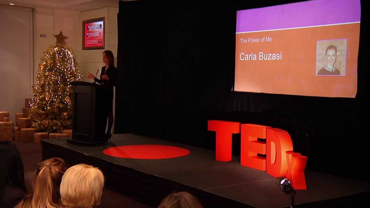 The power of me: Carla Buzasi at TEDxWhitehallWomen - YouTube