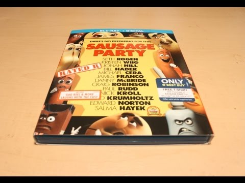 Download Sausage Party - Blu-ray Unboxing