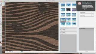 Photoshop: Wood Grain (artificial)