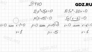 № 440 - Алгебра 7 класс Мерзляк