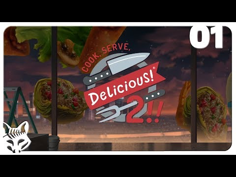 Cook, Serve, Delicious! 2!! OFFICIAL RELEASE! | First Day in Terragon Tower | Let's Play CSD2 Part 1