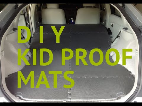 How to HACK DIY Kid Proof Floor mats ODYSSEY SIENNA