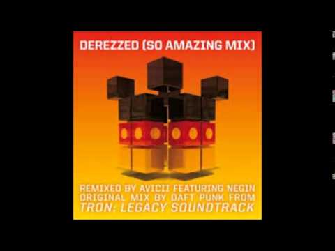 Daft Punk feat  Negin -  Derezzed (So Amazing)