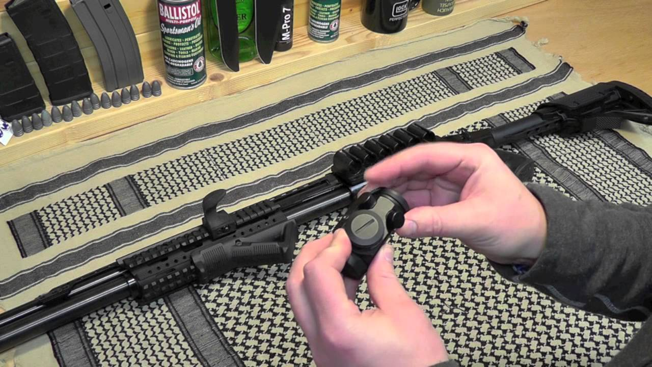 Mossberg 500 Project: Bushnell TRS-25 Red Dot