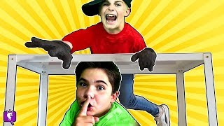 [9.75 MB] EVIL TWINS HIDE and SEEK vs HobbyKids! Winner Gets HobbyKids Adventures Cartoon!