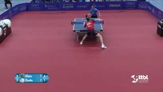 TTBL SELECTED  Klein vs  Duda   Tischtennis Bundesliga