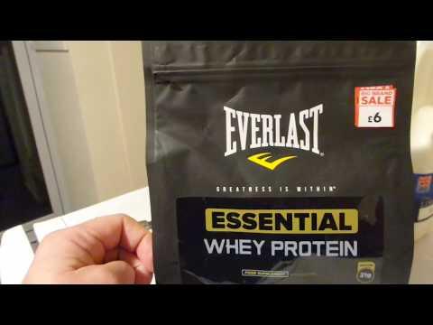 20191109 Everlast Essential Whey protein  Протеиновая пищевая добавка buy in UK England
