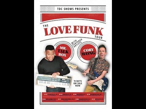 Cory Wong (Love Funk Tour) @ Asheville Music Hall 2-12-2018