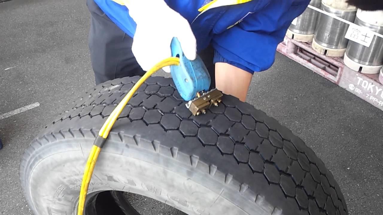 Tire Repair Kit >> REGROOVE - YouTube