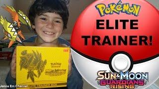 Pokemon Guardians Rising Tapu Koko Elite Trainer Box! Jenna Em