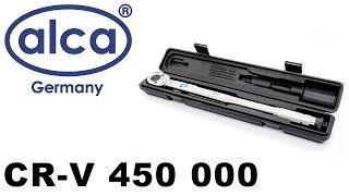 Alca CR-V 450 000 — автоматический динамометрический ключ — видео обзор 130.com.ua(Автоматический динамометрический ключ Alca CR-V 450 000 1/2