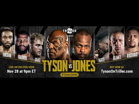 Download Mike Tyson vs Roy Jones Jr.: Weigh-In and Face-Off