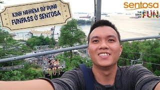 Bill Balo - Sử dụng Fun Pass để chơi hết trò chơi ở Sentosa, Singapore (Sentosa Fun Pass)