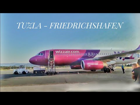 Wizu Air HA-LPT [TRIP REPORT] Tuzla-Friedrichshafen