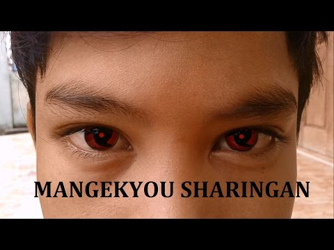 Membuat Mata Mangekyou Sharingan Di After Effects