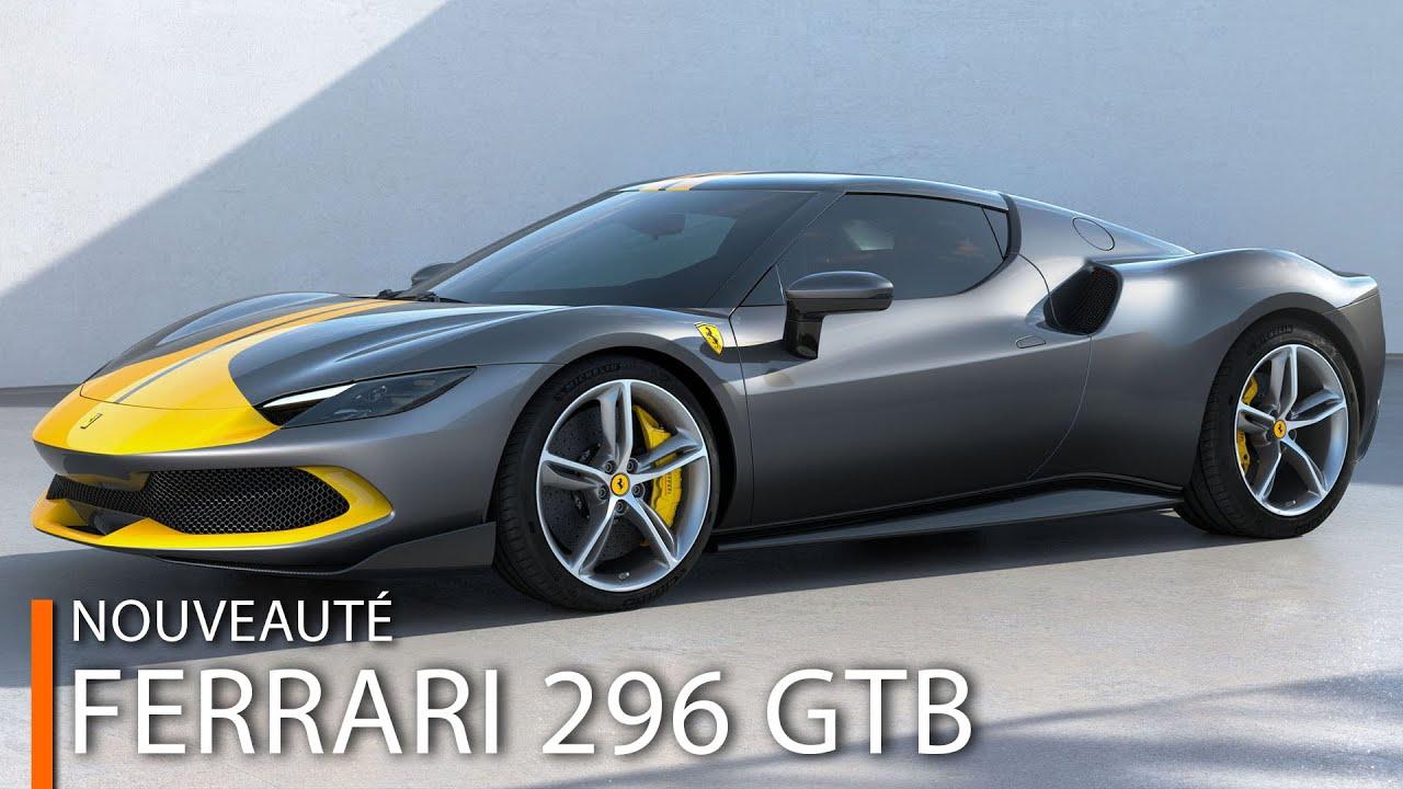 Download Ferrari 296 GTB - V6 de 830 chevaux et... hybride rechargeable !