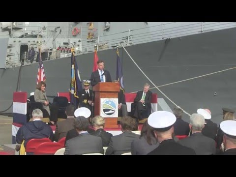 Secretary of the Navy, Ray Mabus, Explains the Great Green Fleet Initiative