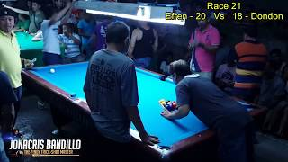 Efren Bata Reyes Vs Dondon Razalan (Tondo Manila) Part 7