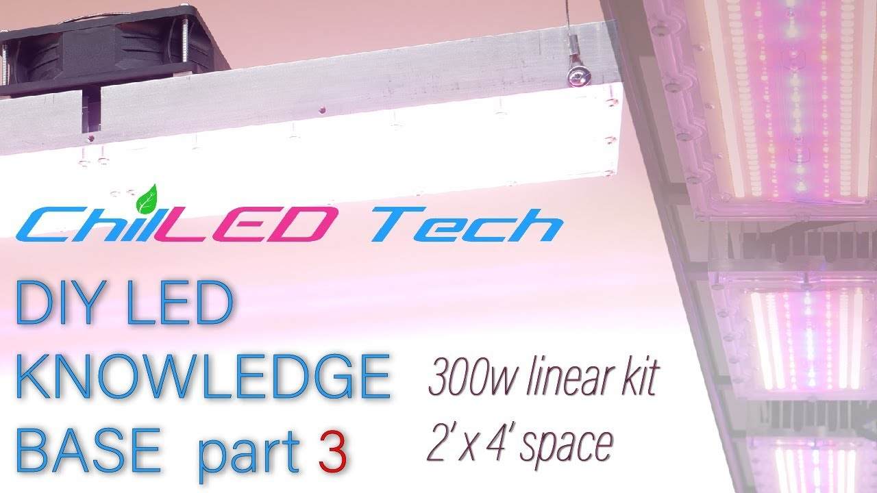 Chilled Knowledge Base 300w Kit For 2 X4 Grow Space