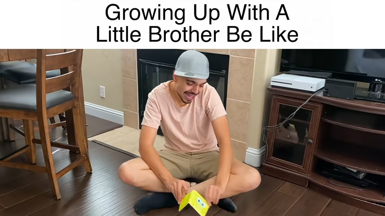 Growing Up With A Little Brother Be Like | MrChuy
