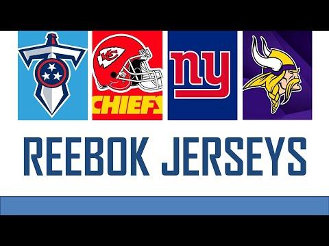 NFL Reebok Jerseys Review | Felipe Louback
