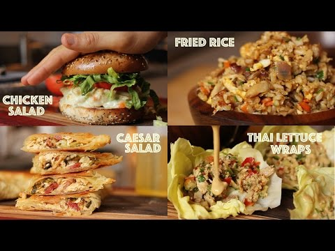 Creative Ways To Use Leftover Rotisserie Chicken