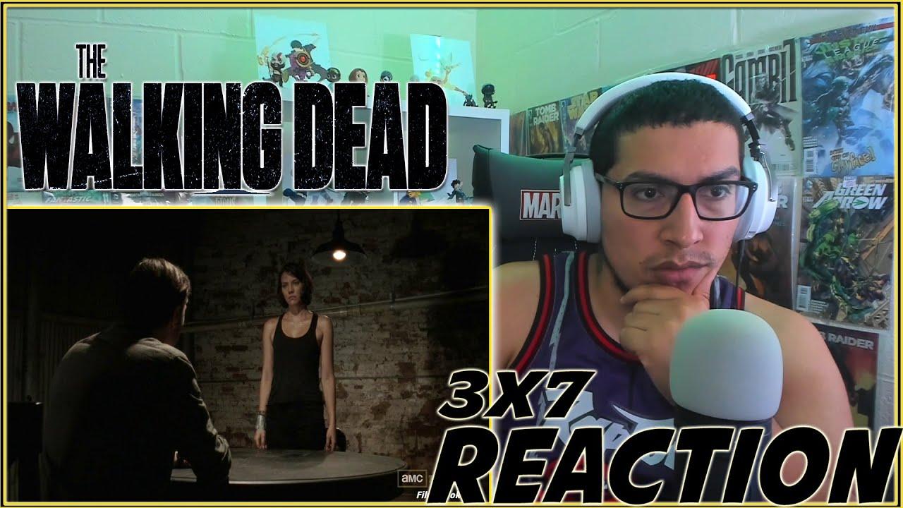 Download MERLE'S INTERROGATION! | The Walking Dead 3x7 REACTION | Season 3 Episode 7