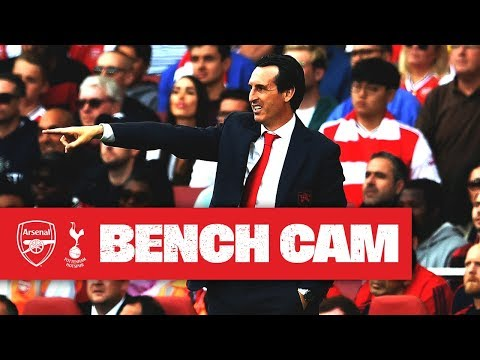 BENCH CAM | North London derby special | Arsenal 2-2 Tottenham Hotspur