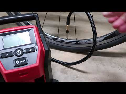 I got kicked out of Harbor Freight & Milwaukee tools compact inflator