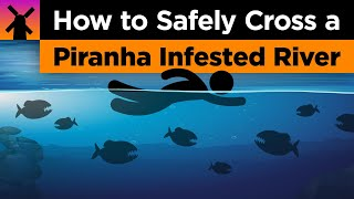 How to Safely Cr๐ss a Piranha Infested River