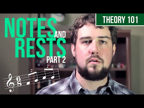 Notes and Rests, Part 2 - TWO MINUTE MUSIC THEORY #5