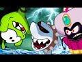 Om Nom Stories : MONSTERS V/S OM NOM NEW EPISODE    UNEXPECTED ADVENTURE   Funny Cartoons For Kids