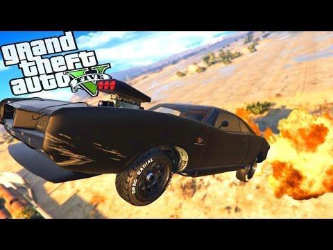 GTA 5 – JET CAR STUNTS AND CRAZY CHALLENGES!! GTA Import/Export Funny Moments 24 Hour Stream Part 3