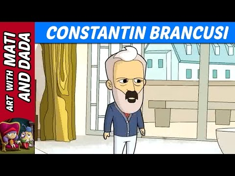 Art with Mati and Dada – Constantin Brancusi | Kids Animated Short Stories in English