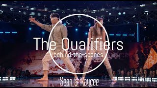 Sean & Kaycee l Behind-The-Scenes l NBC World Of Dance: The Qualifiers