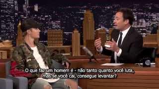 LEGENDADO: Justin Bieber explica o choro no VMA para Jimmy Fallon