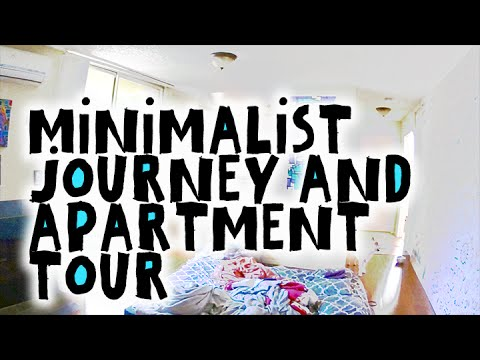 Minimalist journey apartment tour before and after 8 for Minimalism before and after