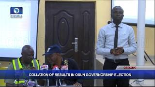 Collation Of Results In Osun Governorship Election Pt.8  Osun Decides 
