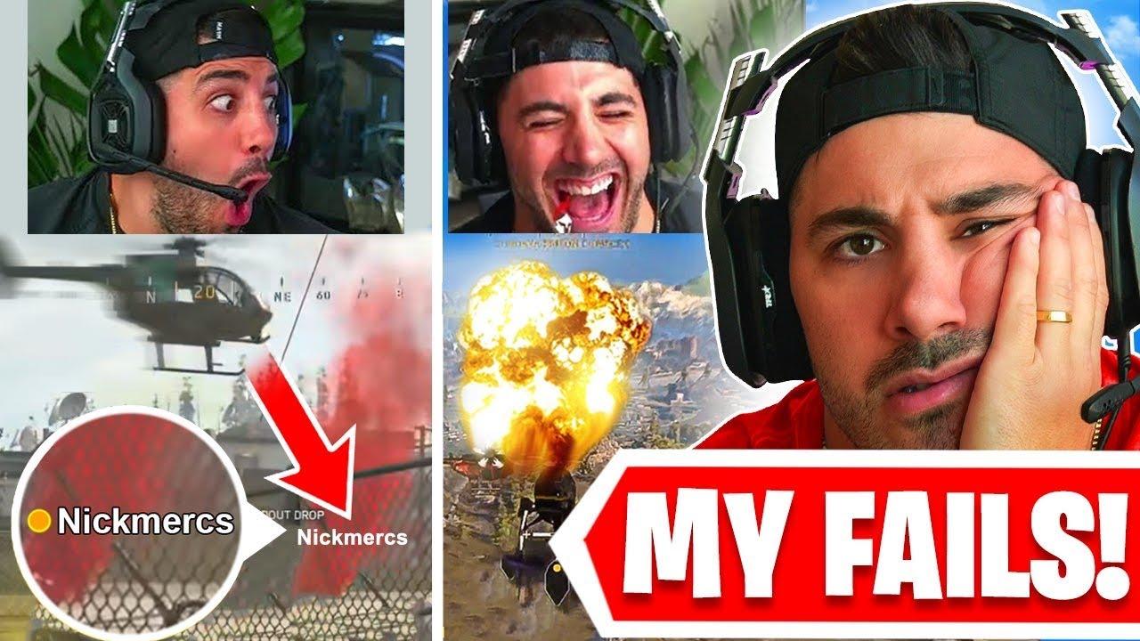 My Worst Warzone Fails EVER! 🤣 *HILARIOUS*