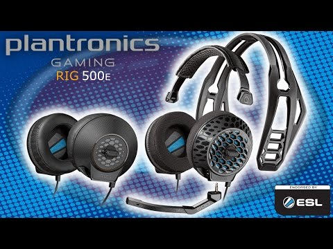 Plantronics RIG 500e Gaming Headset Review - BEST HEADSET EVER!