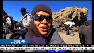 Scenes of jubilation as Trek 4 Mandela climbers summit Uhuru peak