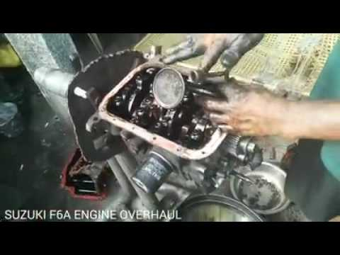 suzuki f6a engine overhaul youtube rh youtube com Suzuki K6A Engine Cushman Cushman Suzuki 660 Engine Parts