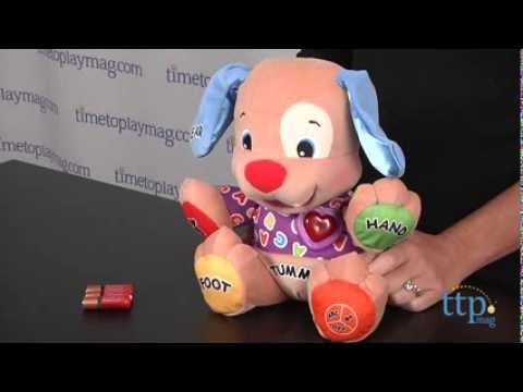 Laugh Learn Love To Play Puppy From Fisher Price Youtube