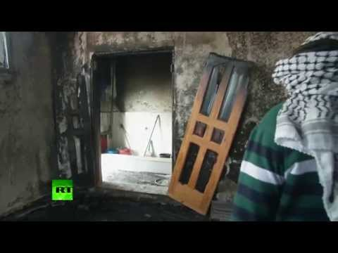Aftermath: Israeli settlers 'set fire' to West Bank mosque