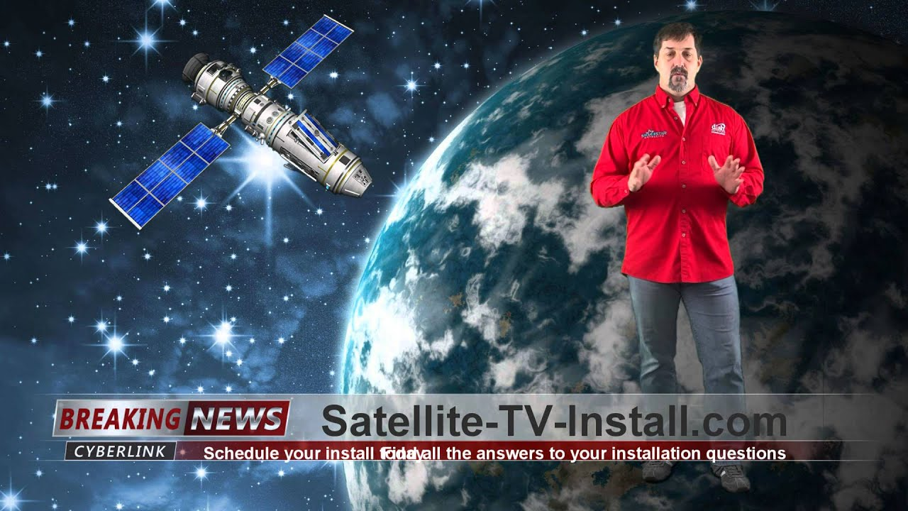 Dish Network Installation Install Satellite Tv 722 Receiver Wiring Diagram For 2 Televisions Youtube