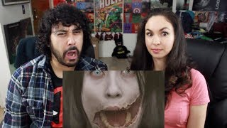 TOP 10 SCARY Japanese URBAN LEGENDS REACTION!!!