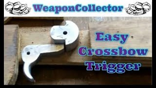 Repeat youtube video Making a Carbine Crossbow - Part 2